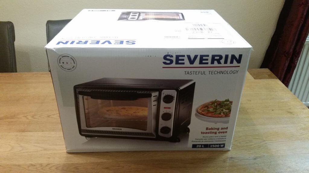 Severin-toastofen verpackt